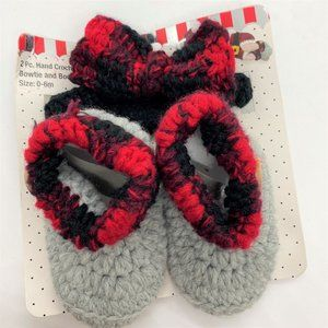 So Dorable infant hat and bow tie-0-6 Months